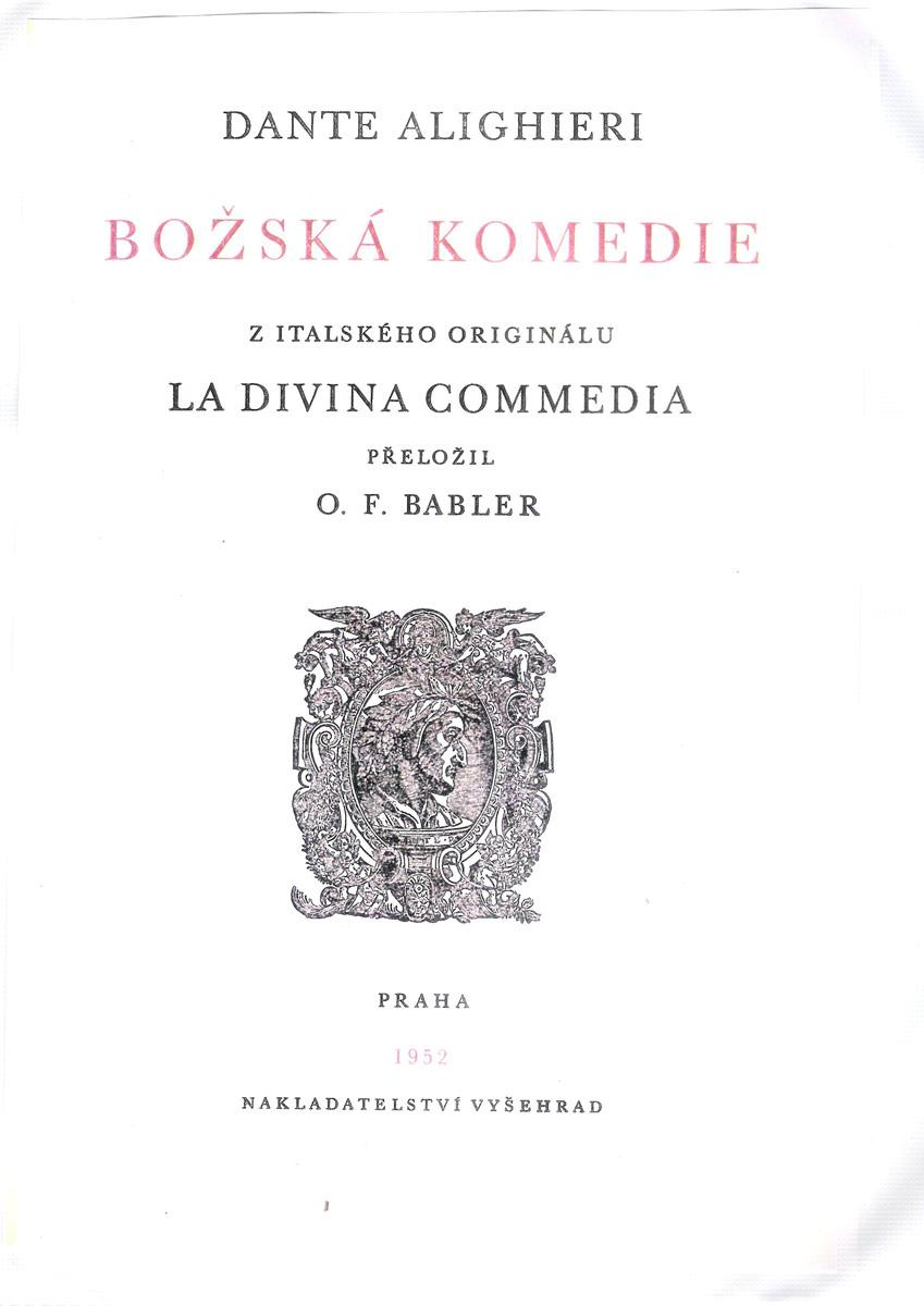 Babler e Zahradníček – 1952