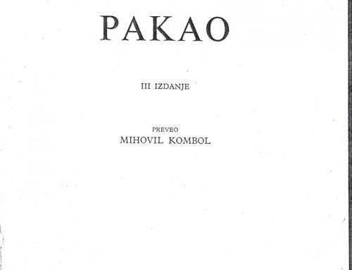Kombol – 1963