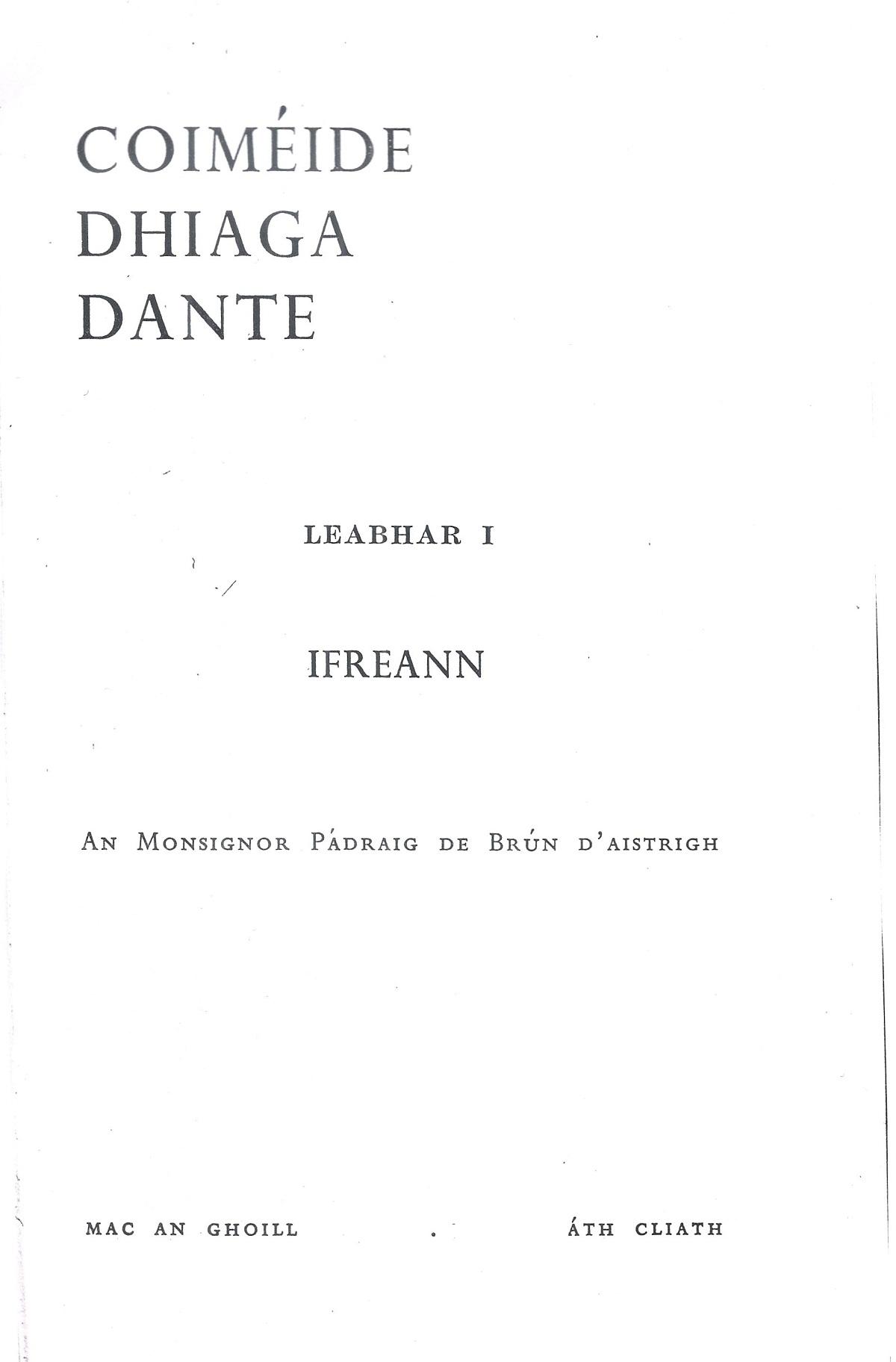 De Brún – 1963