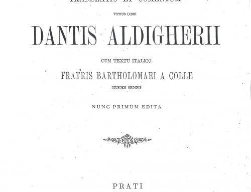 Giovanni da Serravalle – 1891