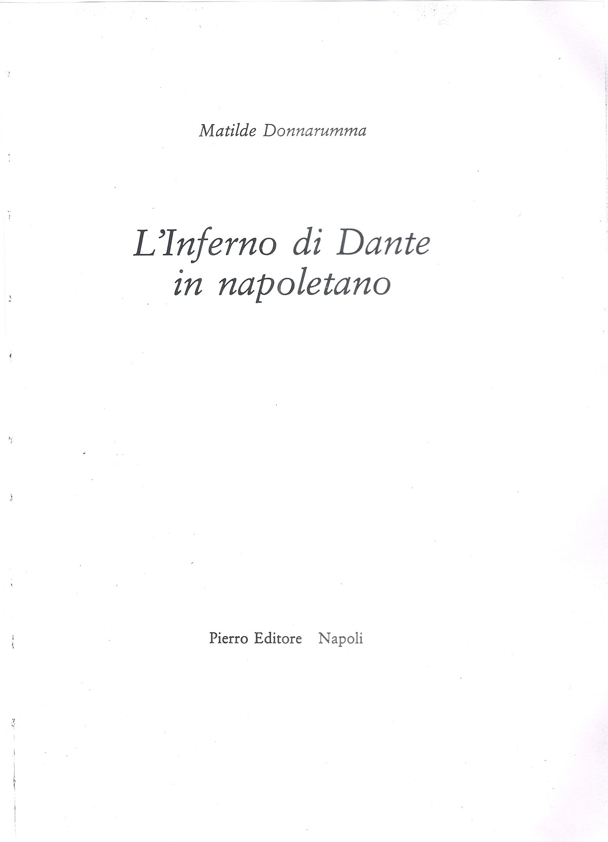 Donnarumma – 1980