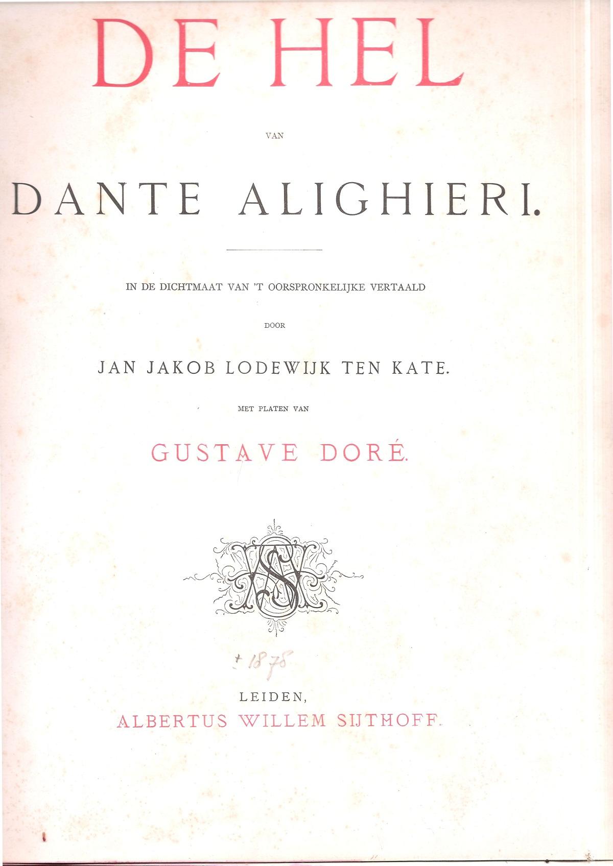 Ten Kate – 1876