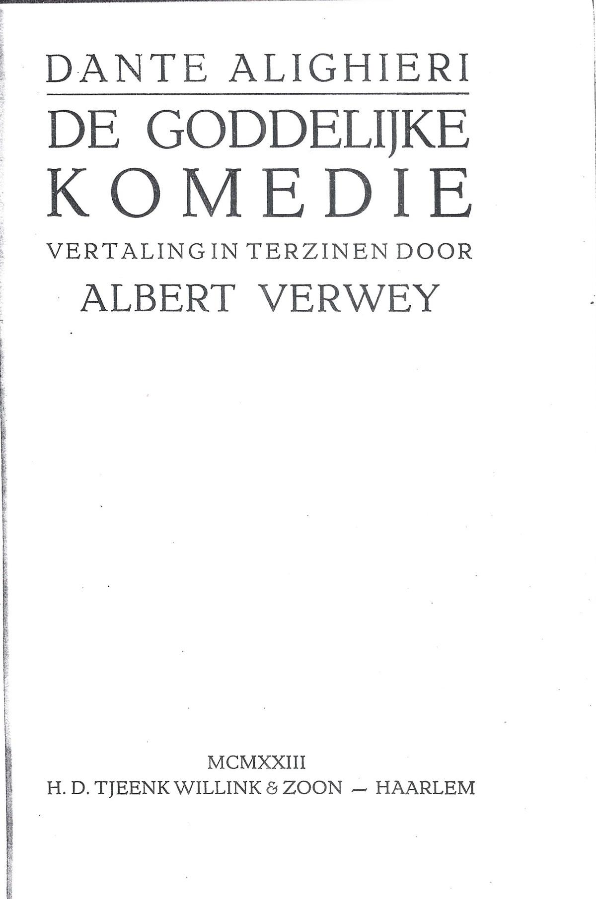 Verwey – 1923