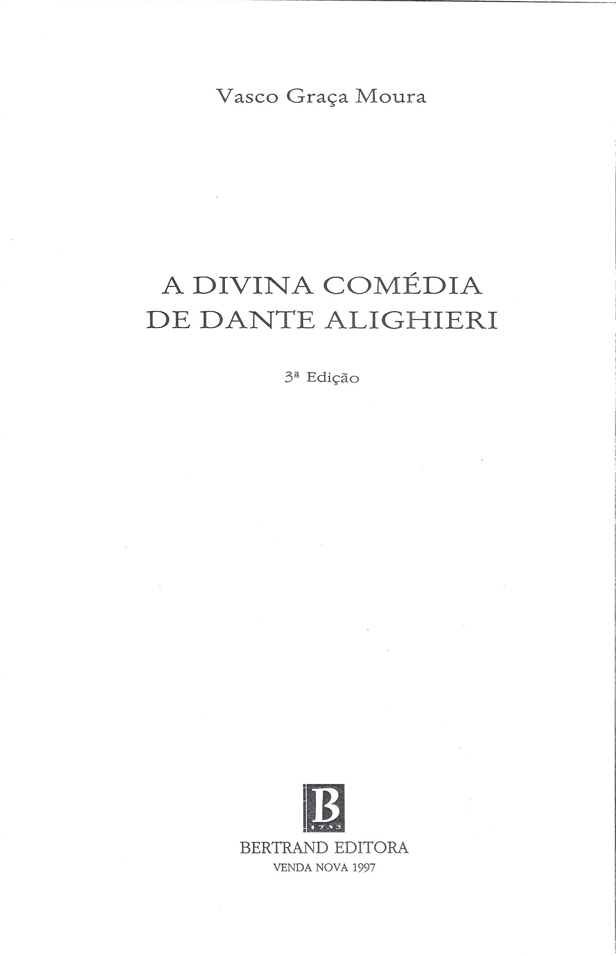 Graça Moura – 1997