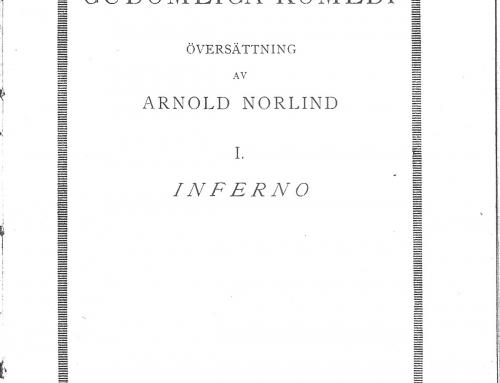 Norlind – 1921