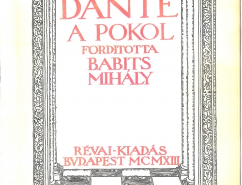 Babits – 1913
