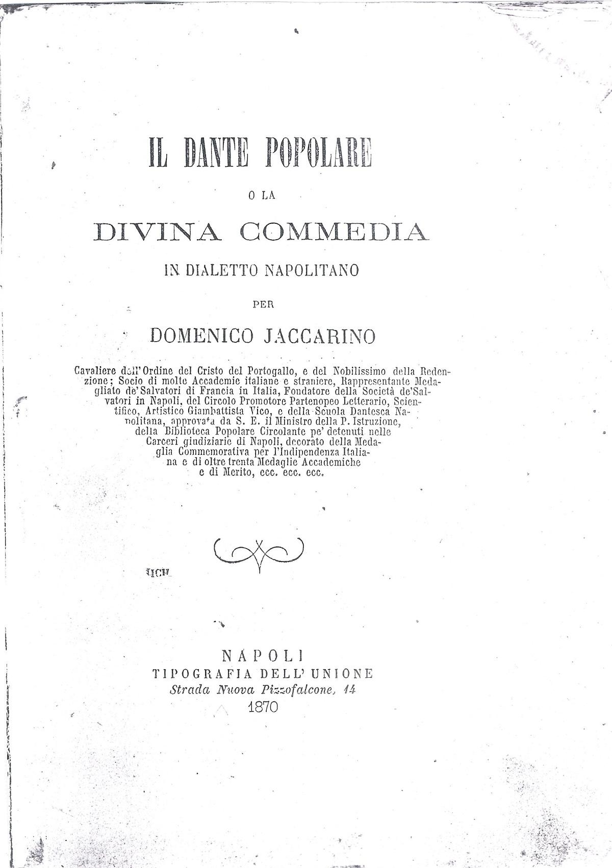 Jaccarino – 1870