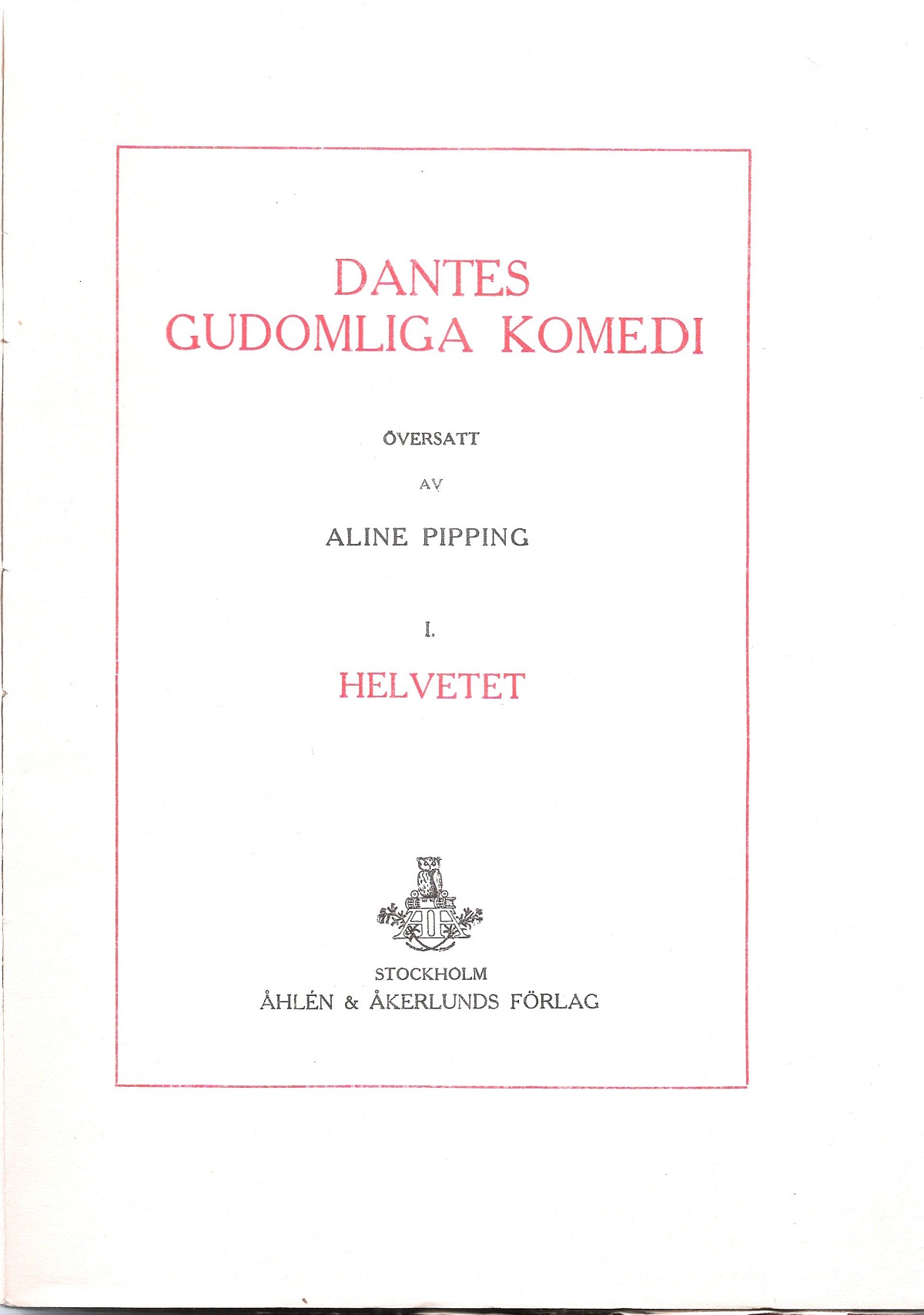 Pipping – 1915