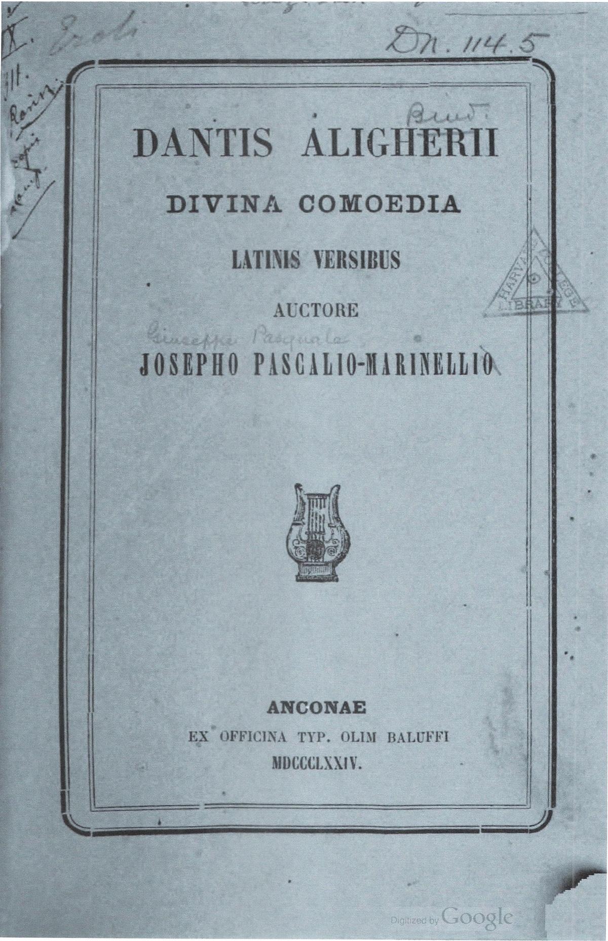 Marinelli – 1874