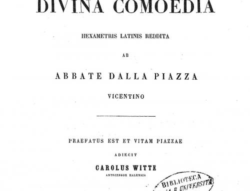 Dalla Piazza – 1848