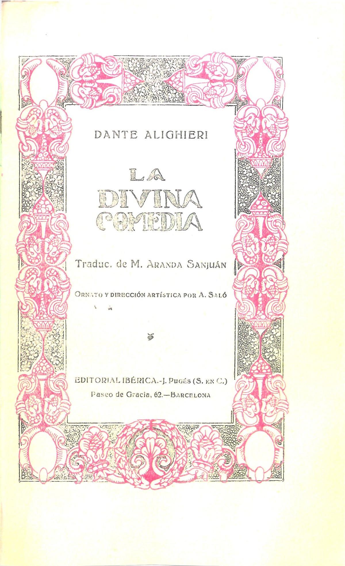 Aranda y Sanjuán – 1919