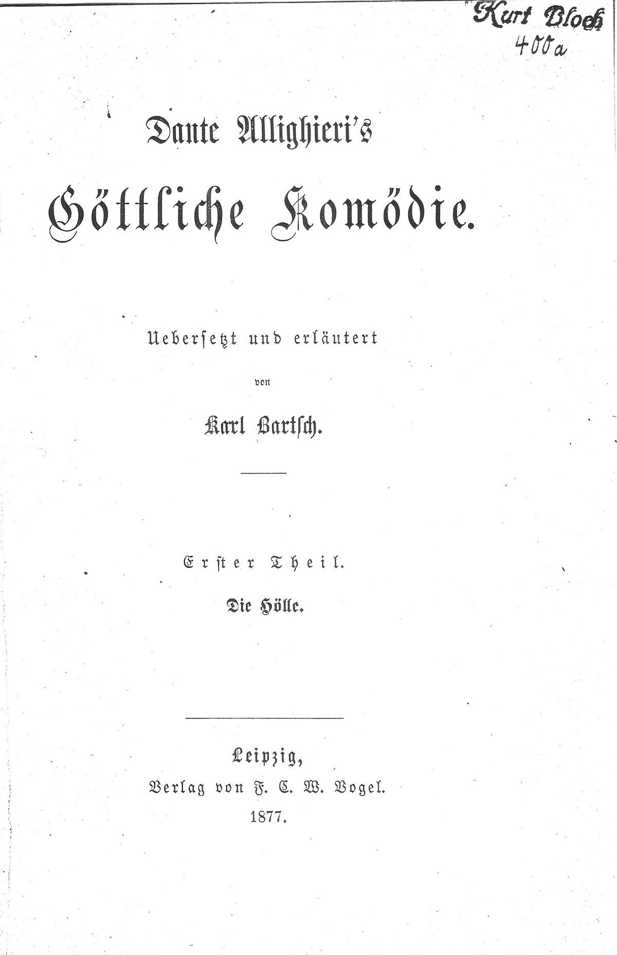 Bartsch – 1877