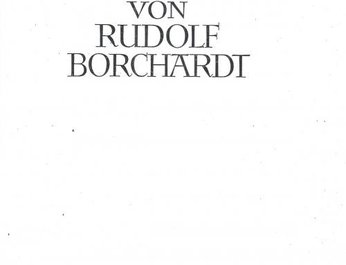 Borchardt – 1930