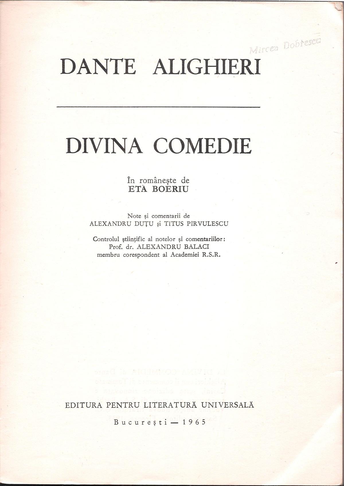 Boeriu – 1965