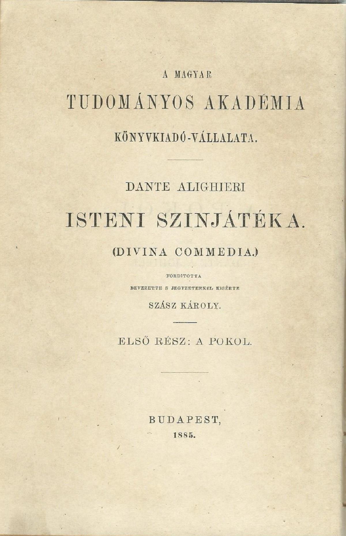 Szász – 1885