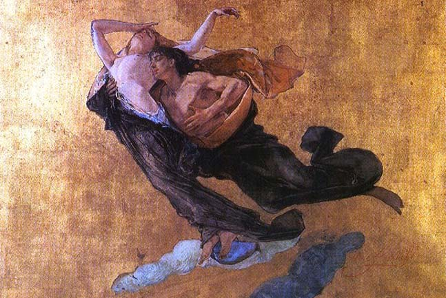 Francesca da Rimini su Dante Poliglotta