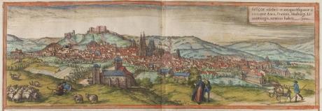 Burgos en el siglo XVI - Georg Braun