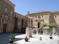 Caleruega - Statua di S. Domenico
