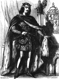 Fernando IV - Grabado del siglo XIX