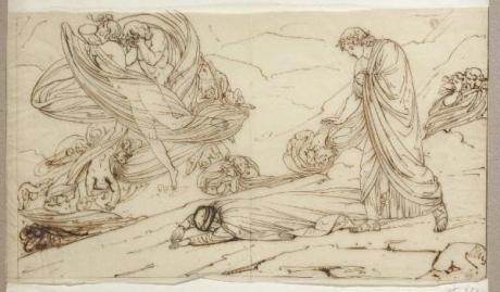 Michele Bisi (1788-1874) - ... e caddi come corpo morto cade