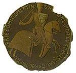 Moneda de Teobaldo II de Navarra