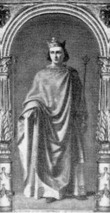 Teobaldo II di Navarra - dipinto di Francisco Mendoza