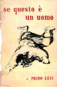 Primo Levi - Se questo è un uomo - Prima edizione, Ed. De Silva, Torino 1947