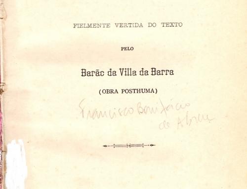 Barão da Villa da Barra – 1888