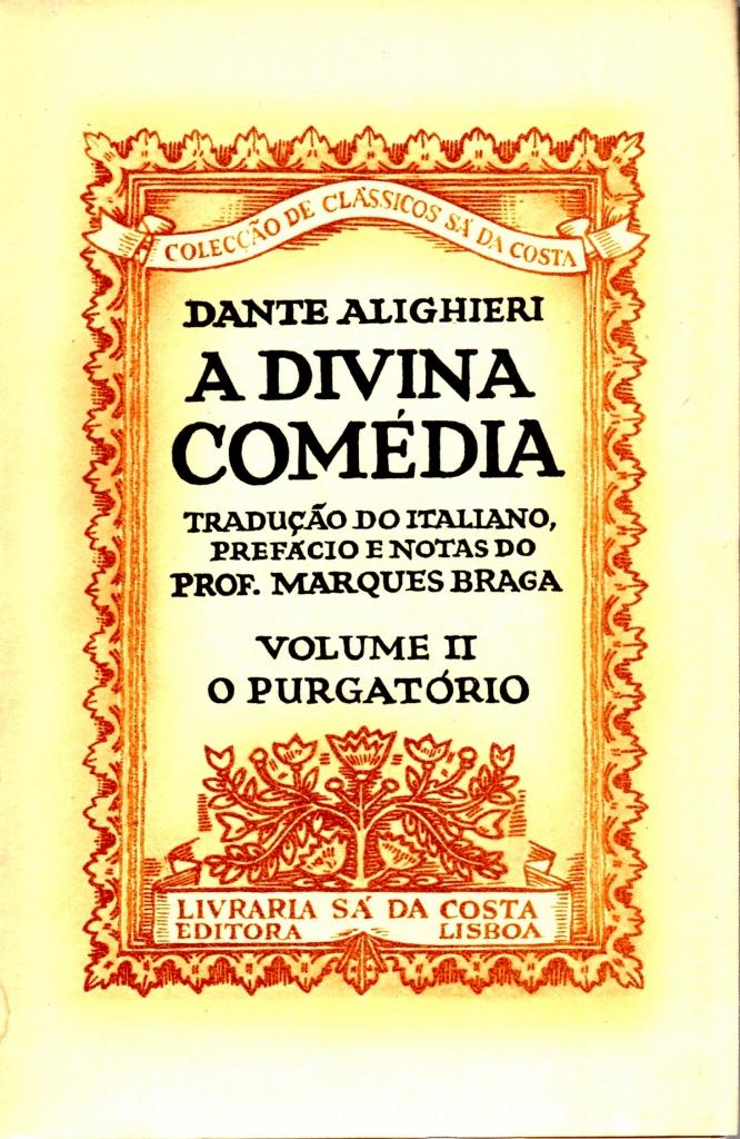 Braga, 1957, Copertina del Purgatorio