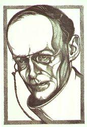 J.K. Rensburg in un disegno di Elias Smalhout
