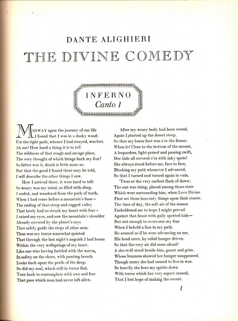 L.G. White, 1948, Incipit Inferno