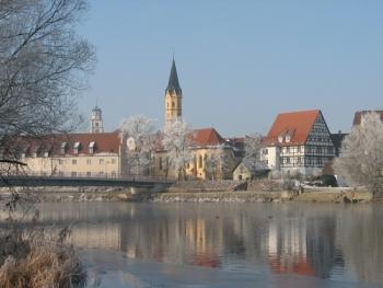 Lauingen, il Danubio