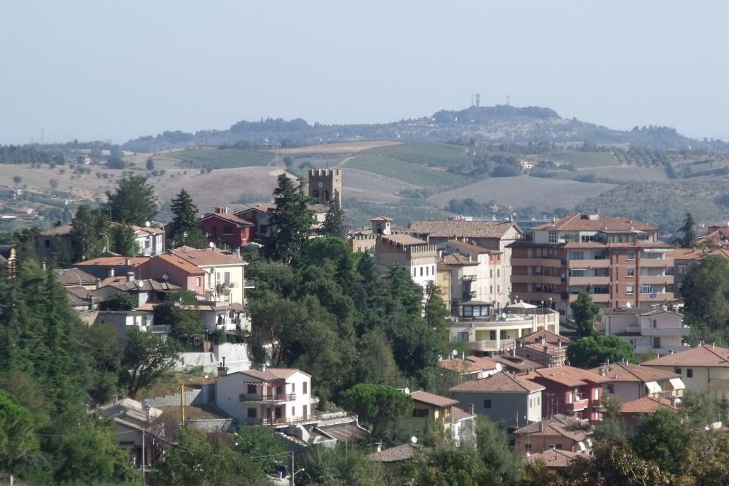 Veduta di Serravalle di Romagna (oggi RSM)