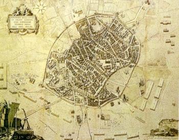 Milano sotto l'assedio di Federico Barbarossa - 1158