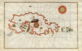 Piri Reìs - Map of Malta - 1525