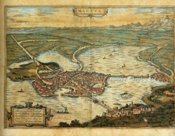 Veduta di Mantova - 1575