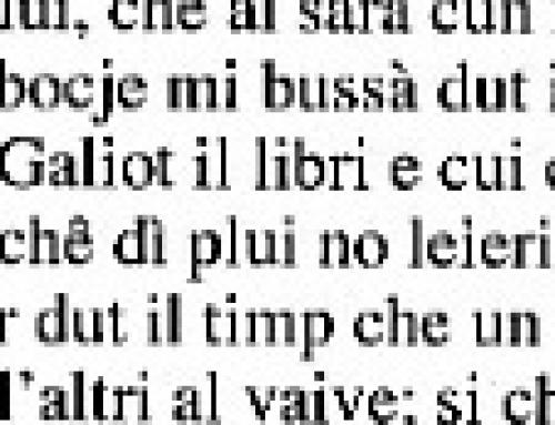 Friulano – Venuti