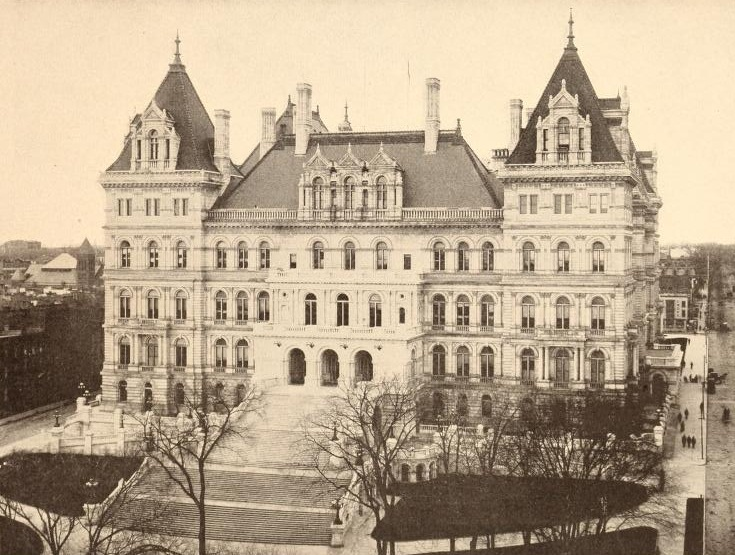 Albany - New York State Capitol in 1900