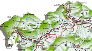 Alta Valle di Susa con Salbertrand