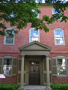 Longfellow's House in Portland, Maine