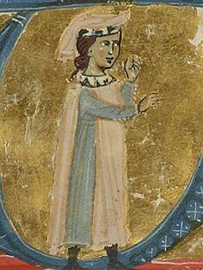 Sordello da Goito, miniatura medievale