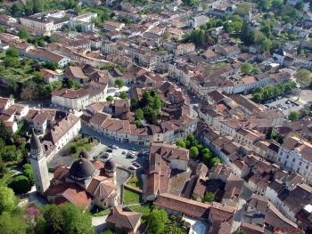 Veduta di Ribérac