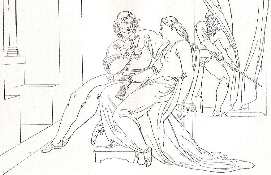 Bonaventura Genelli, Paolo e Francesca