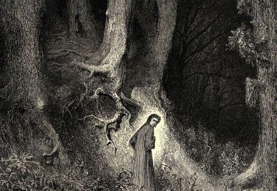 Gustave Doré, la selva oscura
