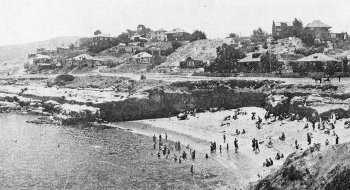 La Jolla, San Diego, California, 1908