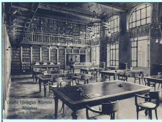 Circolo Filologico Milanese - foto storica