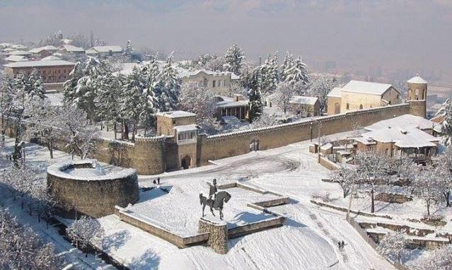 Telavi, Georgia, il palazzo di re Eraclio II (1720-1798)