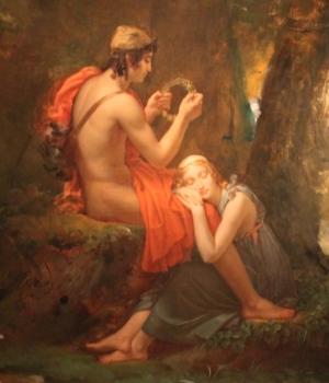 François Gérard, Dafni e Cloe, 1824