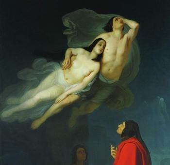 Giuseppe Frascheri (1809-1886), Francesca da Rimini