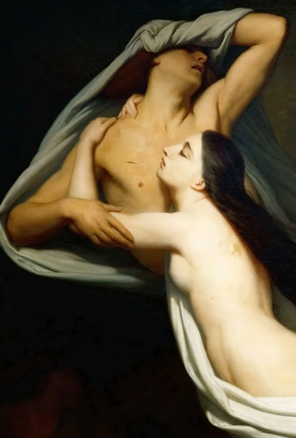 Great painters of the Divine Comedy – Ary Scheffer